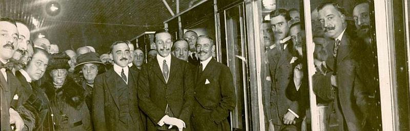 La inauguración del Metro de Madrid