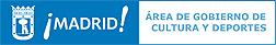 Logo del Área de Gobierno de Cultura y Deportes